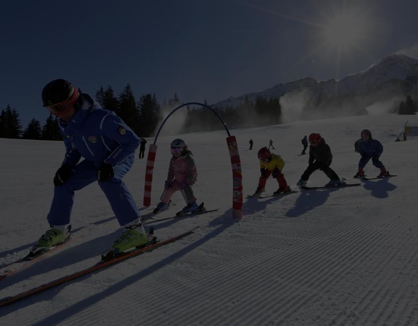 Sciare In Un Luogo Incantato
