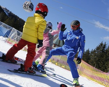 Group ski lessons for Children - Special group ski courses