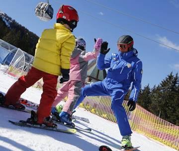 Группа лыжные уроки для детей