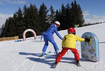 Promozione lezioni di sci